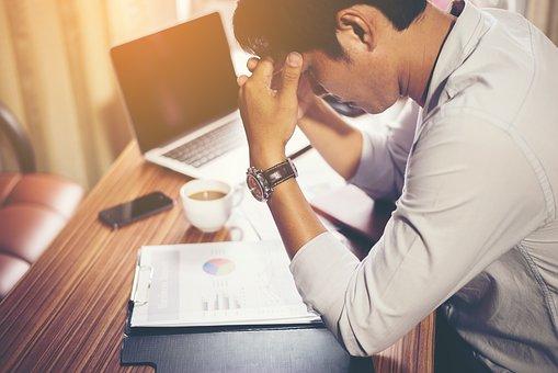 épuisement, stress, fatigue, manque de sommeil