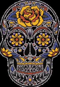 tête de mort, fête des morts , Mexique