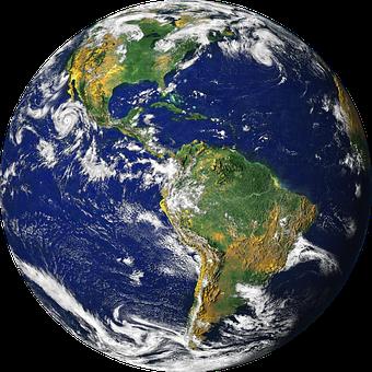 globe terrestre, monde, terre, planète terre, réchauffement climatique, protection de l'environnement