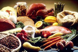 alimentation saine, variée
