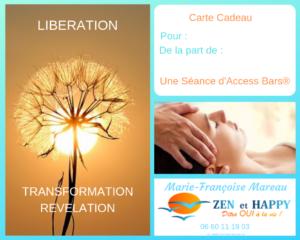 carte cadeau access, libération, transformation, révélation