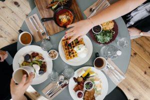 repas  partager, repas sain, savoureux